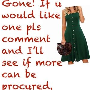 Dresses & Skirts - MANY offers for this! Get your size while u can!